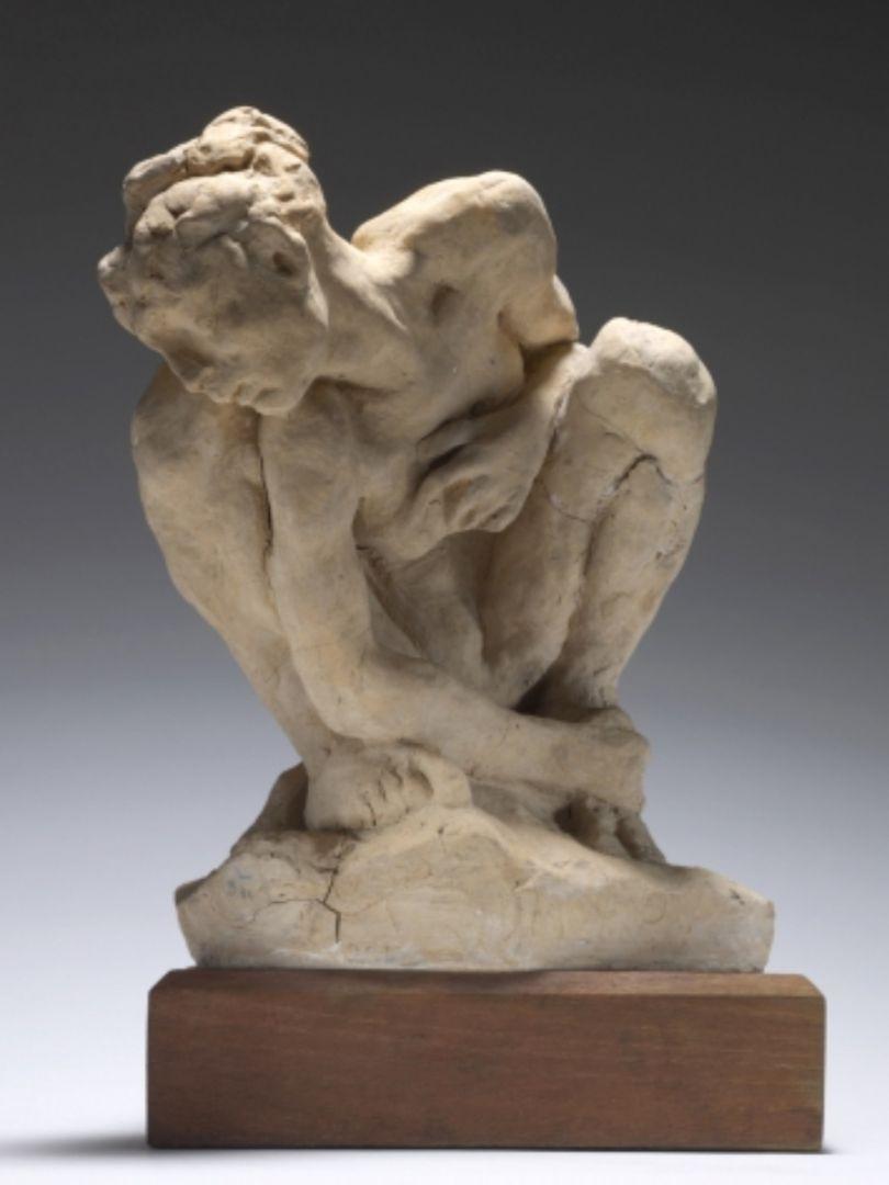 Sculpture Femme Ronde Colorée valentine pigeolet, elise gilles – edgar degas et camille