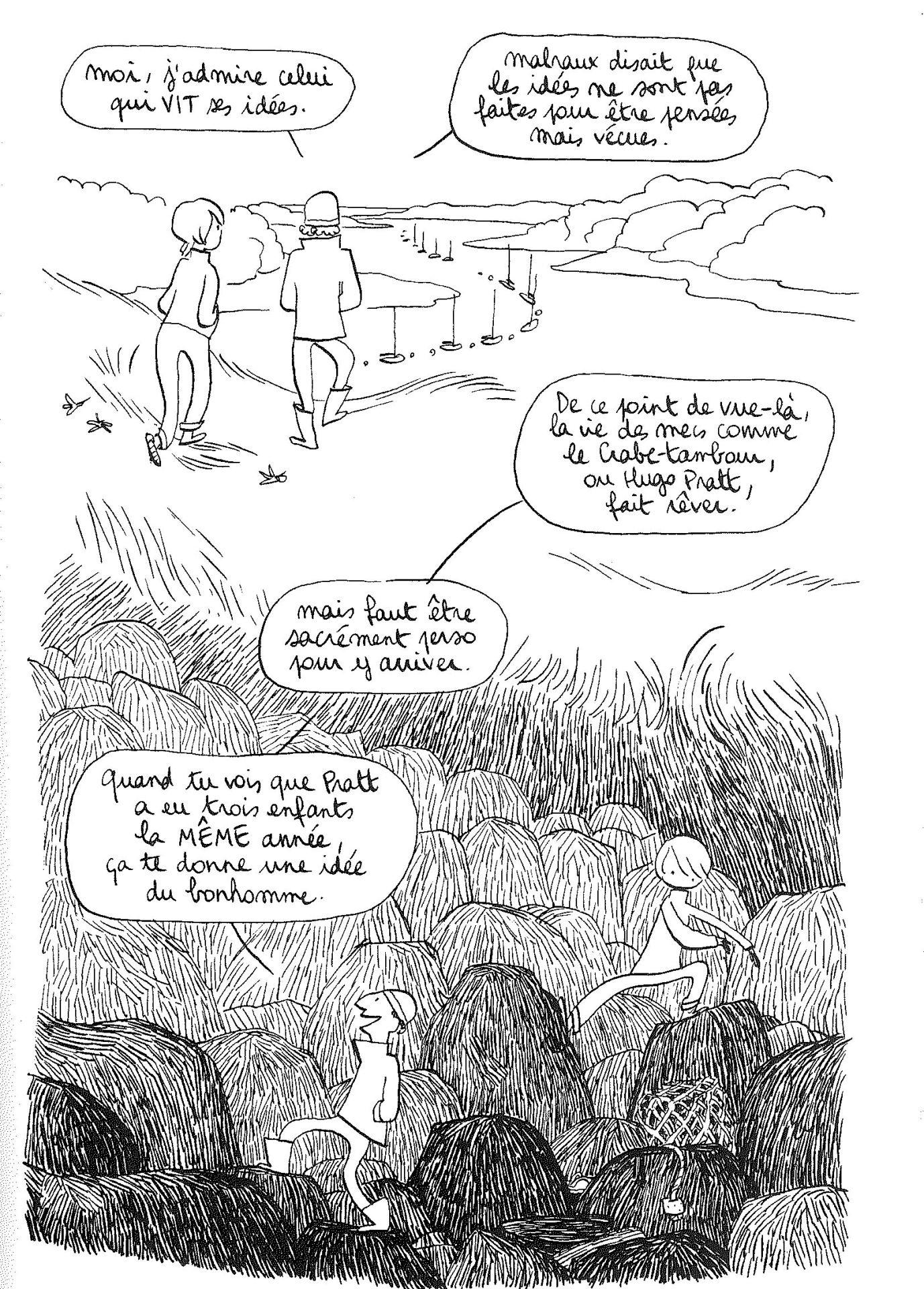 Fig. 34 – Aude PICAULT, Transat, Paris, Delcourt, 2009, [n. p.] («  Shampooing »)