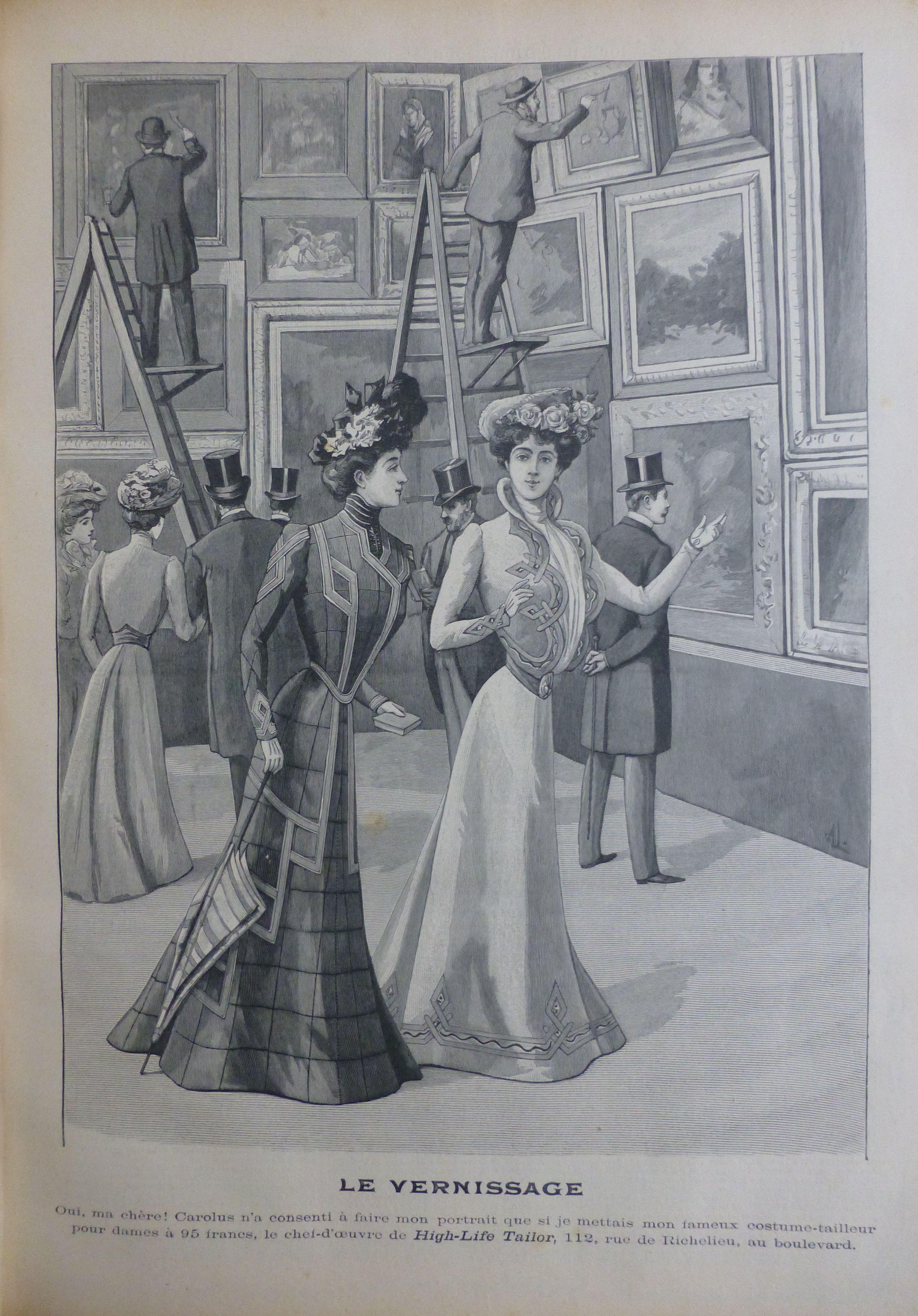 Tenue D Artiste Peintre lyse vancampenhoudt – la femme fin-de-siècle et la mode à