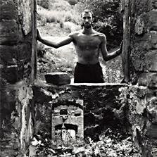 Pierre Cordier (1933 -), Autoportrait Saarbrücken, 1958.