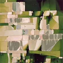 Pierre Cordier (1933 -), Chimigramme 19/2/71 II (détail D4), 59,5 x 49,3 cm, 1971.