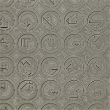 Pierre Cordier (1933 -), Chimigramme négatif 21/4/72 II « d'après Programme P-48 de Manfred Mohr » (détail), 17,4 x 24 cm, 1972.