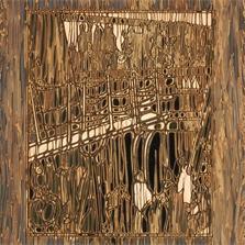 Pierre Cordier (1933 -), Chimigramme 16/1/81 IV 'Hommage à Stieglitz', 35,5 x 30,5 cm, 1981.