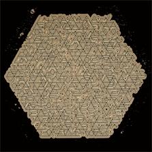 Pierre Cordier (1933 -), Chimigramme 14/6/91 'd'après La Suma de Jorge Luis Borges', 53 x 61 cm, 1991.