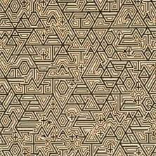 Pierre Cordier (1933 -), Chimigramme 14/6/91 'd'après La Suma de Jorge Luis Borges' (détail), 53 x 61 cm, 1991.