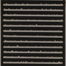 Pierre Cordier & Gundi Falk, Chimigramme 11/4/13  « Musigramme contemporain », 2013.