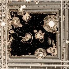Pierre Cordier & Gundi Falk, Chimigramme 14/3/12 « Fenêtres sur l'Inconnu » (détail C1), 2012.