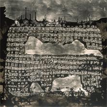 Pierre Cordier (1933 -), Chimigramme 28/8/59 « Charbonnage », 50x 60 cm, 1959.