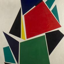 <span style='display:none;'>Jo Delahaut. Sève (1956). Huile sur toile, 116 x 89 cm. Collection privée.</span>