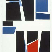 <span style='display:none;'>Jo Delahaut. Eclatée (1956) Huile sur toile, 146 x 92 cm. Collection Belfius Banque.</span>