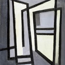 <span style='display:none;'>Jo Delahaut. Sans titre (1946). Huile sur toile, 97 x 81,5 cm. Collection Fondation Roi Baudouin, Inv. FRB1045.</span>