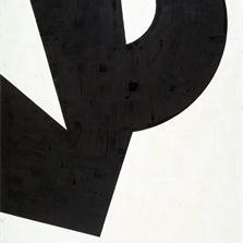 <span style='display:none;'>Jo Delahaut. Sans titre (1964). Acrylique sur toile, 166 x 119 cm. Collections communales d'Evere, Inv.2001.</span>