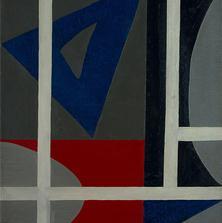 <span style='display:none;'>Jo Delahaut. Construction (1946). Huile sur toile, 110 x 82 cm. Collection privée.</span>