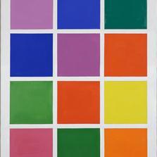 <span style='display:none;'>Jo Delahaut. Ode n°1 (1986). Acrylique et huile sur toile, 92 x 73 cm. Collection privée.</span>