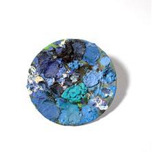 <span style='display:none;'>Jo Delahaut. Sans titre (s.d.). Huile sur assiette en céramique, 23 cm. Collection privée.</span>